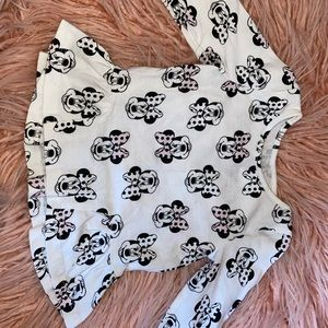 babygirl minnie shirt - 12m - perfect condition